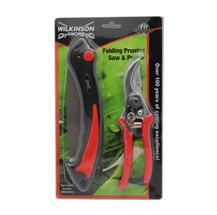 Folding Pruner Saw & Pruner Set