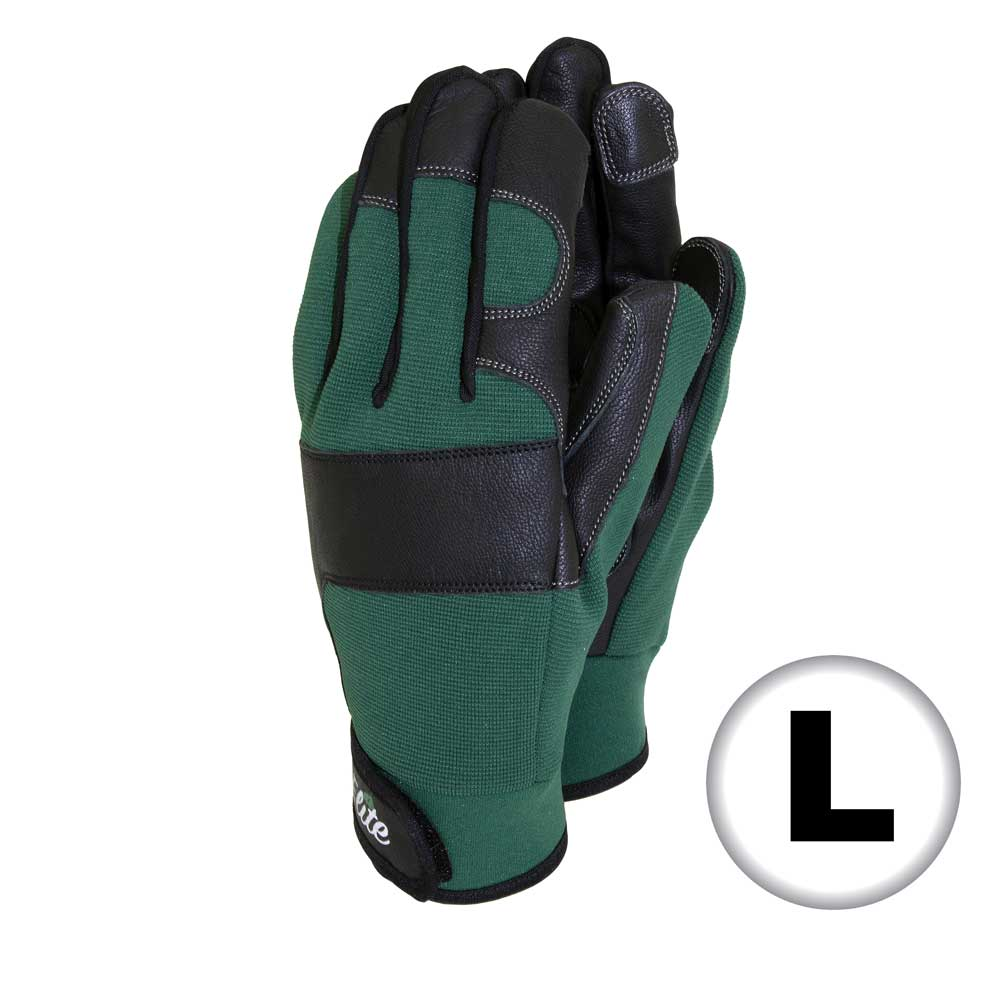 Elite Leather Gloves - Large