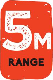 5m Range